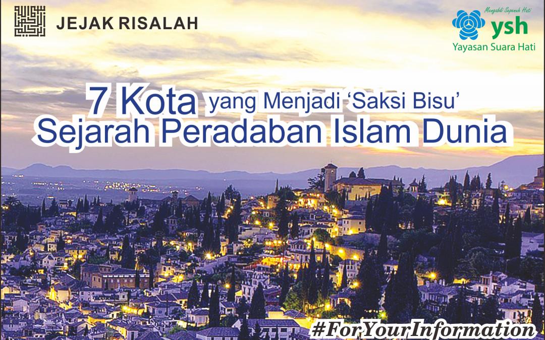 7 Kota Yang Menjadi 'Saksi Bisu' Sejarah Peradaban Islam Dunia