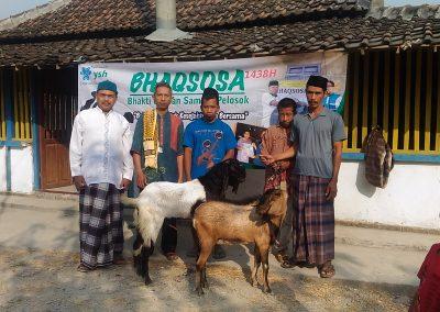Kegiatan BHAQSOSA Yayasan Suara Hati di desa Kalimanis