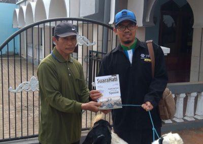 Kegiatan Qurban di salah satu desa Malang