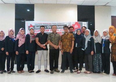 Donor Darah Karyawan YSH di PT. Unite Tractor Indonesia Surabaya
