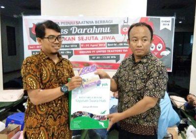 Donor Darah Karyawan YSH di PT. Unite Tractor Indonesia Surabaya3