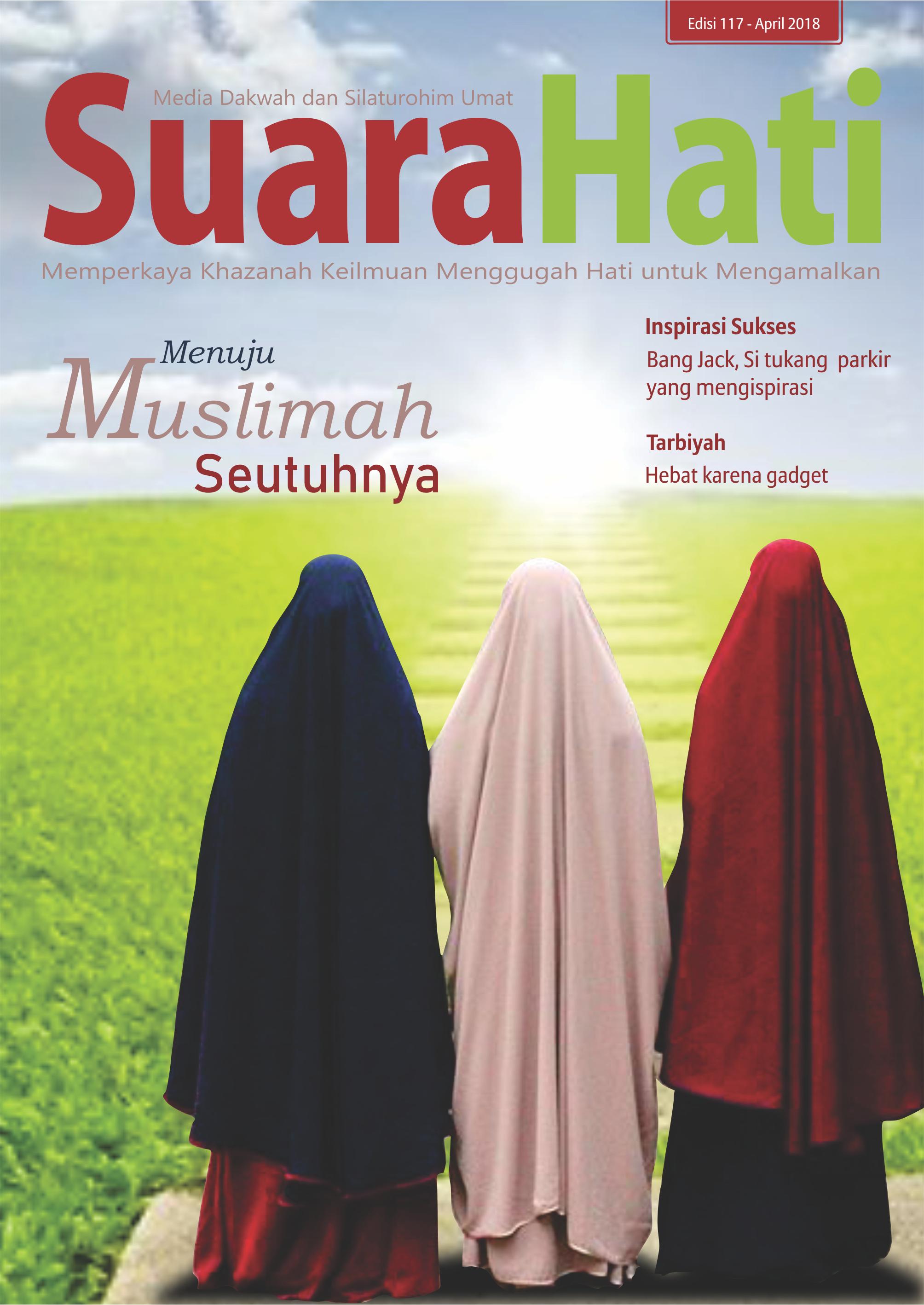 Majalah Suara Hati edisi April 2018
