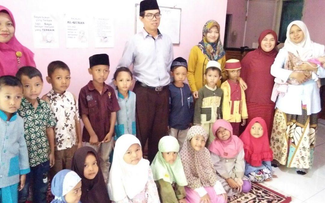 Kunjungan TK Ar-Rahman Di Panti Asuhan Suara Hati