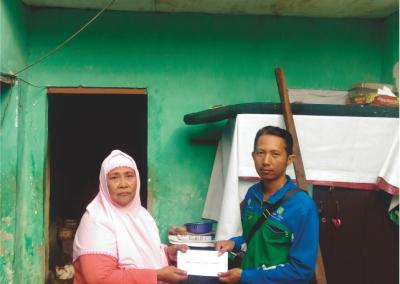 Bantuan Sosial Untuk Ibu Slamet
