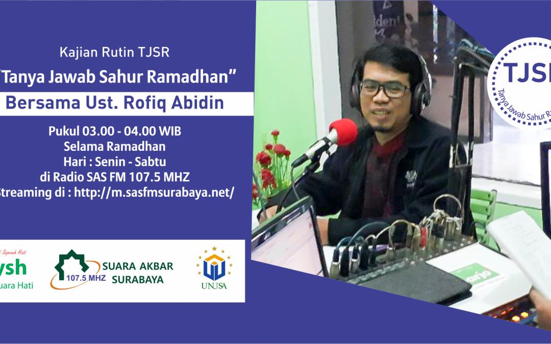 "TalkShow ""Tanya Jawab Sahur Ramadhan"""