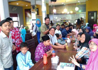Buka puasa bersama di Restoran Asap-asap Sidoarjo