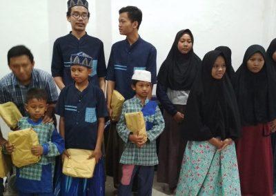 Kunjungan Rumah edukasi qurani sidoarjo di Panti Asuhan Suara Hati