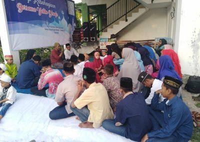 Kunjungan dari komunitas debu langit di Panti Asuhan Suara Hati