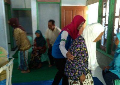 Acara Bakti Sosial Yayasan Suara Hati dengan masjid Al-Muhajirin