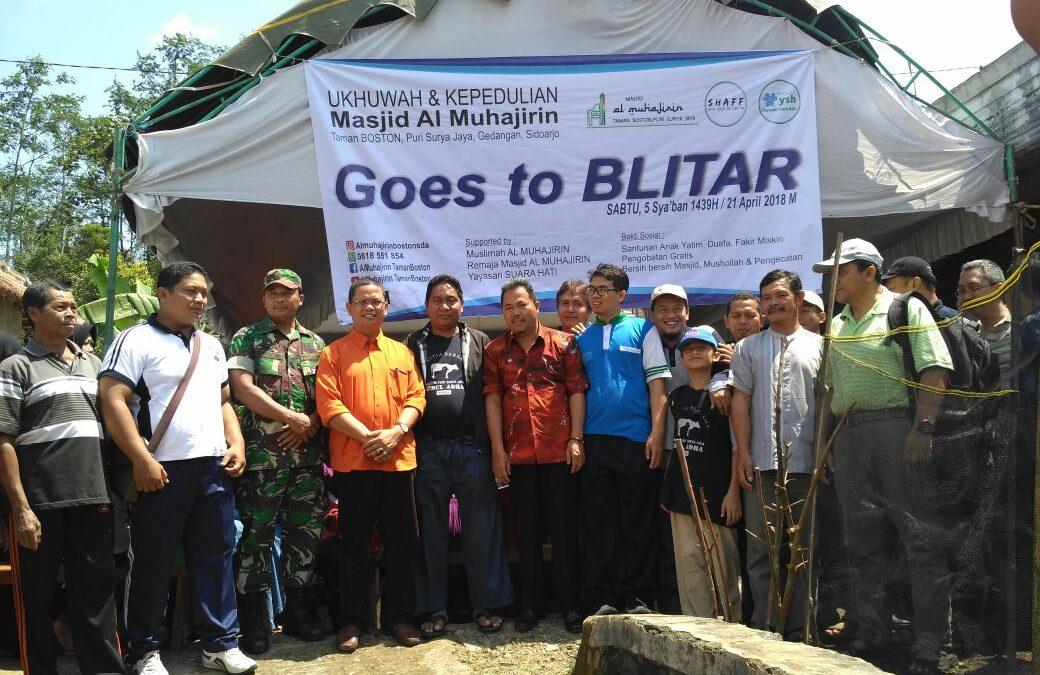 Bakti Sosial Di Dusun Purworejo Blitar