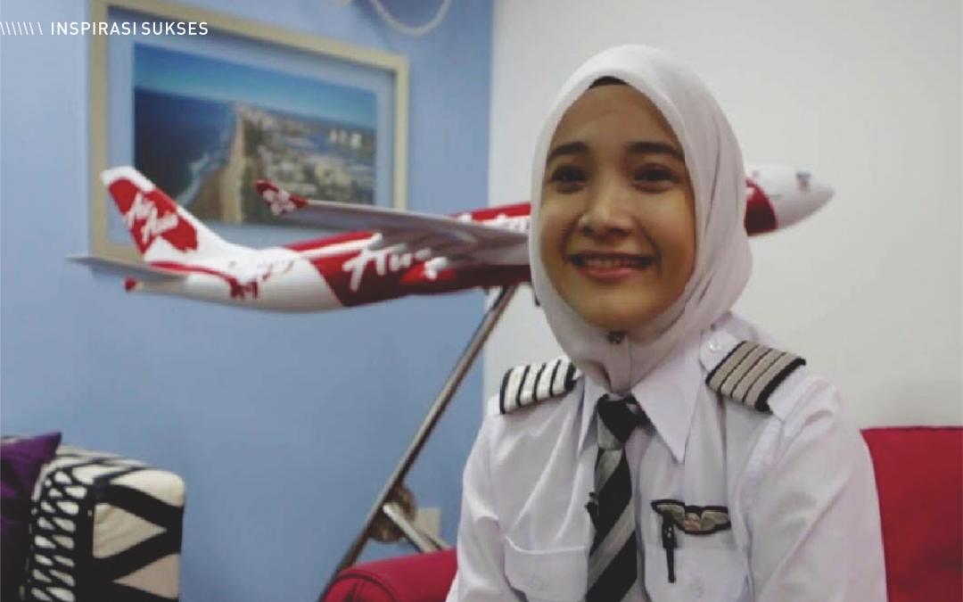 Captain Fizzy Idrus, Pilot Senior Airbus