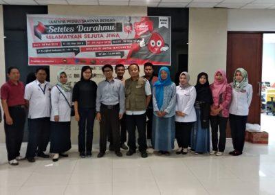 Kegiatan Donor Darah Yayasan Suara Hati