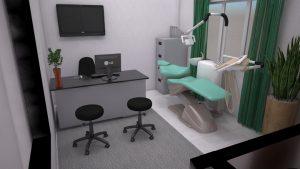 Ruang poli gigi  RSIA Amanah Suara Hati