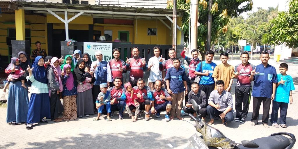 Kunjungan Komunitas Gowes Go Fast di YSH
