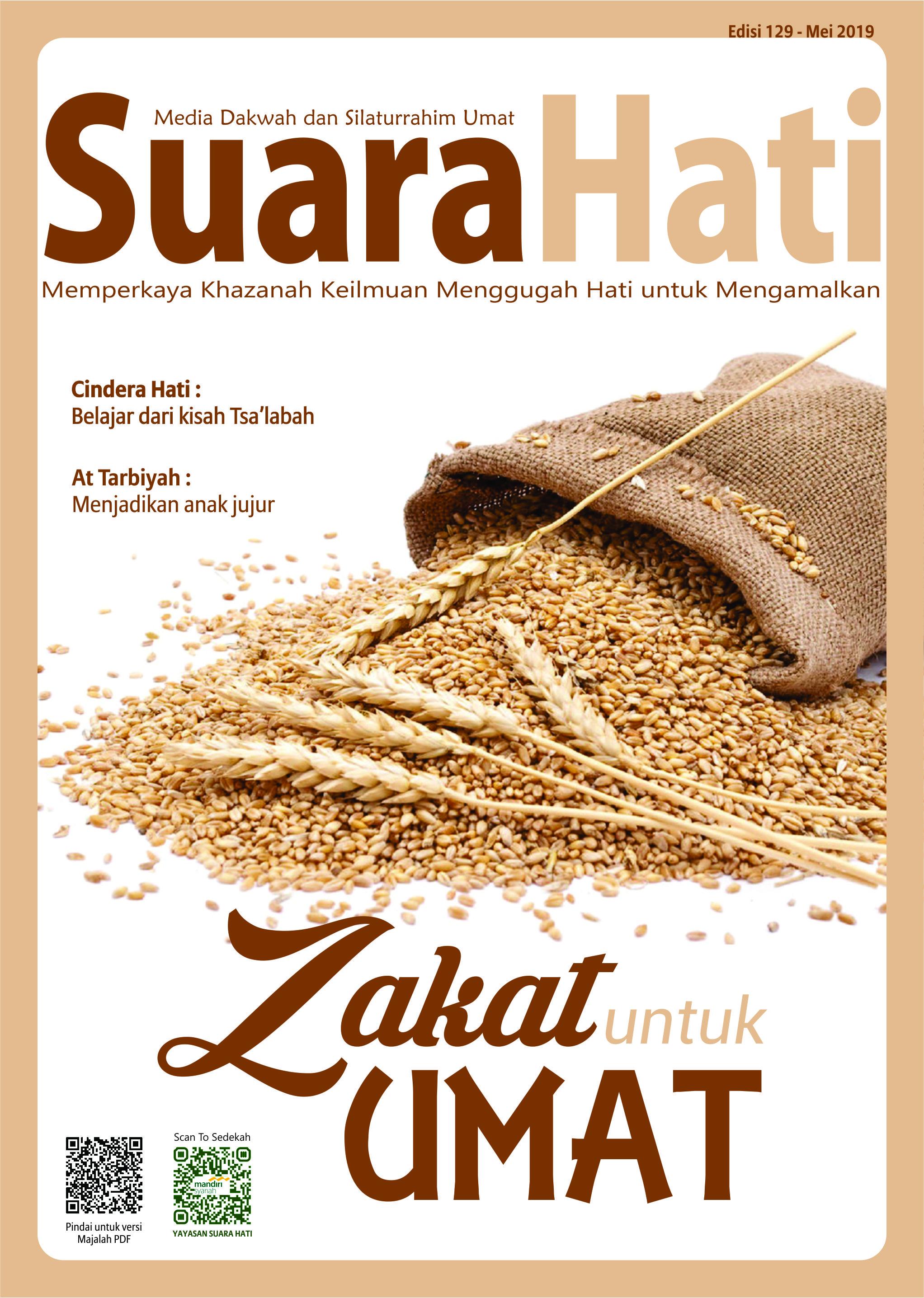 Majalah Suara Hati Edisi Mei 2019